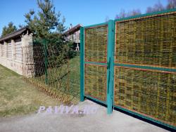 плетёные ворота
