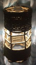 светильники для бара из дерева