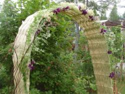 Садовая арка