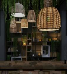 Светильник потолочный для бара кафе и ресторана
