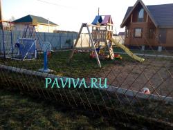 живой забор ограждение площадки