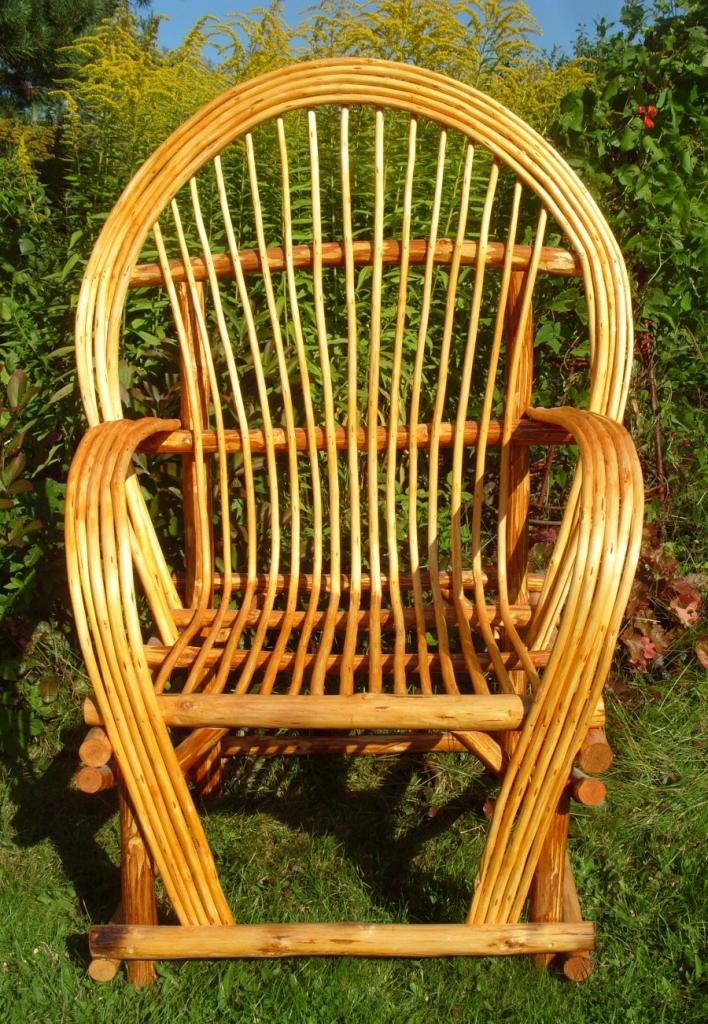 Дачные кресла плетёные