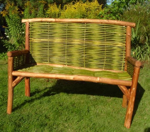 Садовая скамейка,ручная работа