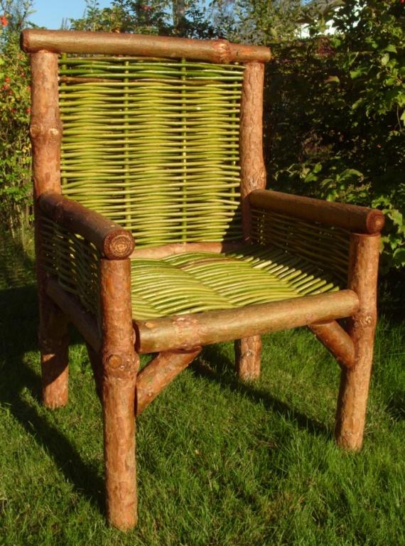 Трон викинг,стул норвежский,стул для дачи