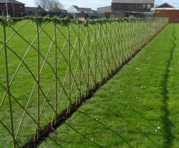 забор на огород