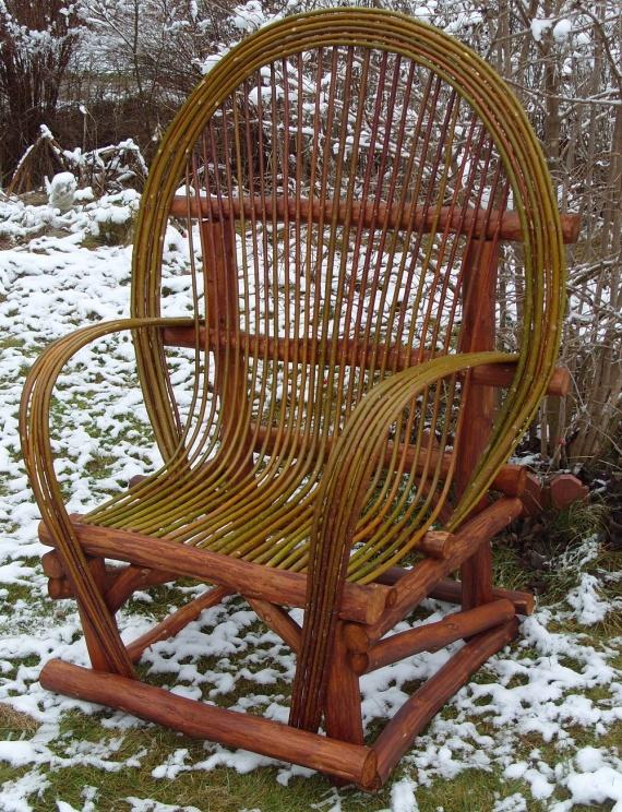 Плетёная садовая мебель