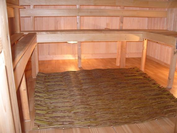 Декоративный плетень в баню