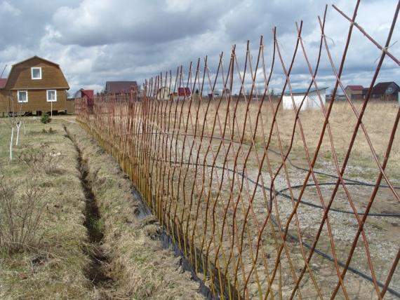 Ограждения земельного участка
