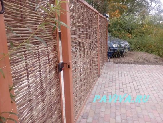 плетёные ворота и калитки