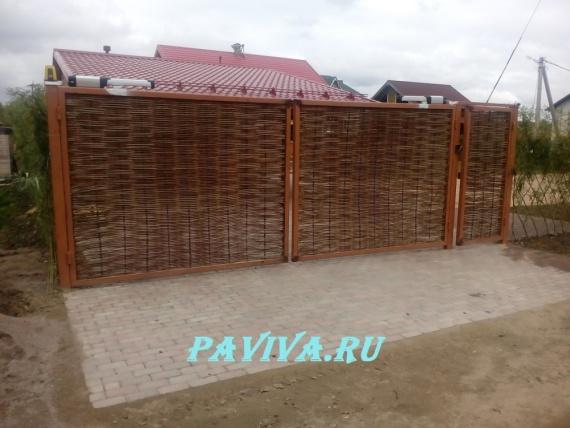 Красивые ворота и калитки фото