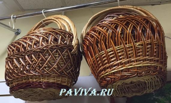 корзинки плетёные в спб
