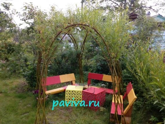 мебель садовая от павива